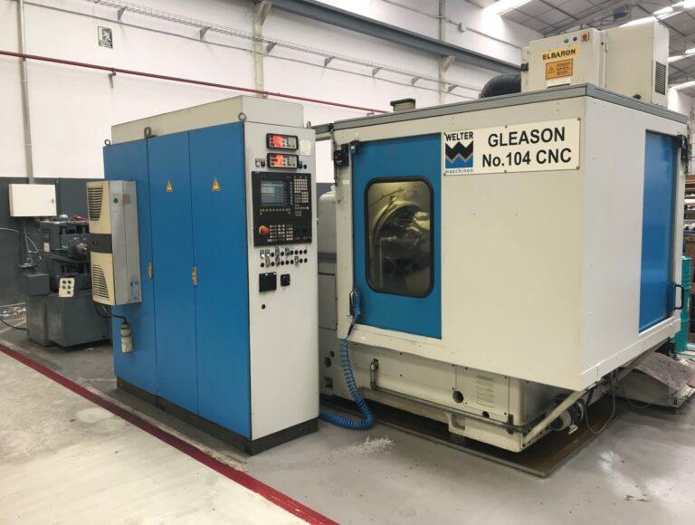 Talladora GLEASON 104-CNC