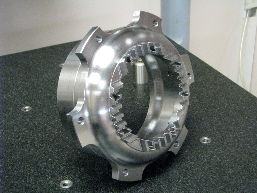 Machining of parts